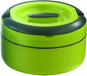 Thermo Container Pinnacle Lunch Box, Green, 1800 ml, up to 4 hours, 21.5X13.5 CM