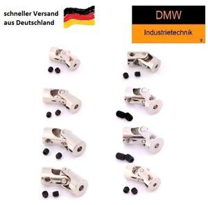 Crawler Kardangelenk Wellenkupplung Flexibel 2mm / 4mm / 5mm / 6mm / 8mm / 10mm