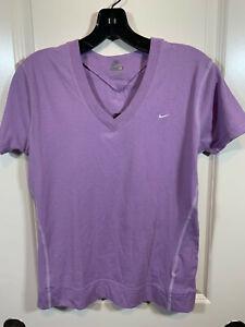 *NWT* Womens Nike Active Swoosh Contrast Stitch T-shirt - Medium - Lavender