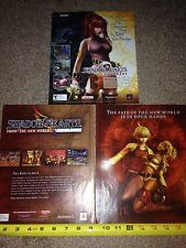 Lot of 3 Shadow Hearts Covenant & New World Video Game Ad Pages NO GAMES!