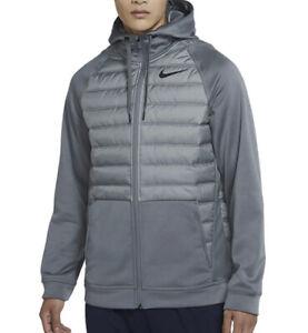 Nike Therma Winterized Size Full Zip Hooded Jacket Sz 3XL BLACK BV6298 Men's