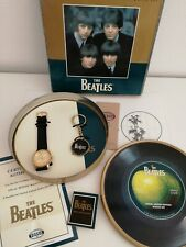 The Beatles Gold Limited Edition Fossil Watch & Keychain #864 of 1000 New in Box