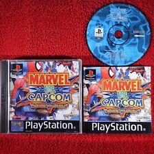 MARVEL VS CAPCOM CLASH OF SUPER HEROES - PlayStation 1 PS1 ~PAL~ Rare