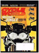 CYCLE WORLD SEPTEMBER 2012 HONDA NC700X HUSKY TR650 DUALSPORT BMW R1250GS DUCATI