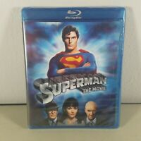 Superman Blu ray The Movie Disc New Factory Sealed 1978