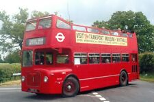 COLOUR BUS PHOTO LONDON TRANSPORT EX MIDLAND RED D9 PHOTOGRAPH PICTURE OM5..