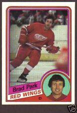 1984-85 Topps Hockey Brad Park #47 Red Wings NM/MT