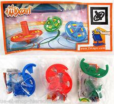 Auswahl Malkreisel Mixart 2011 Einzelfigur mit Beipackzettel und Aufkleber Folie