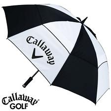 "CALLAWAY 60"" VENTED DUAL CANOPY WIND RESISTANT GOLF UMBRELLA @ 40% OFF RRP"