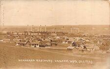 Real Photo Postcard Standard Oil Refinery in Casper, Wyoming~109575