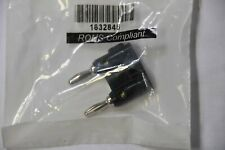 Pomona MDP-02 DBL Banana Plug with Wire Guide (Set) (Pack of 2)