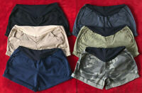 Maternity Shorts a:glow Casual SIZES 2, 4, 6, 8,10,12 Belly Panel 6 COLORS NEW