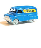 1957 vintage Matchbox Lesney 25 Bedford Dunlop Van Metal Wheels