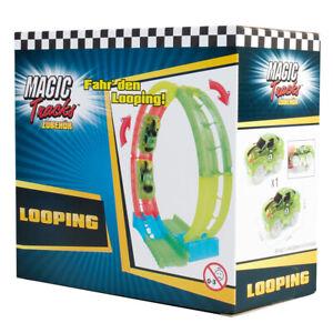 Magic Tracks Looping inkl. Looping RennautoZubehör für Rennbahn  In- und Outdoor