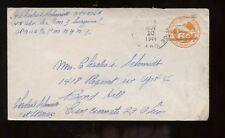 US WWII APO 113 (HQ Adv Sec Com 3 Surgeons) Cover Nov 10, 1944 to Cincinnati, OH