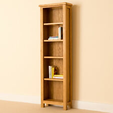 Roseland Furniture RF969 Lanner Oak Tall Slim Bookcase