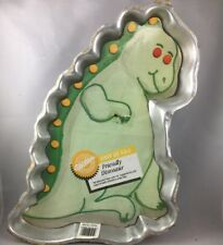 Wilton Friendly Dinosaur Prehistoric Vintage Cake Pan Mold 2105-9409 1988 C15
