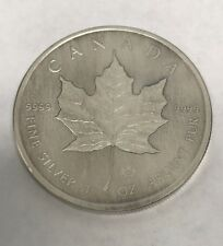 SILVER MAPLE LEAF ANTIQUE FINISH - 2015 1 oz Pure Silver Coin