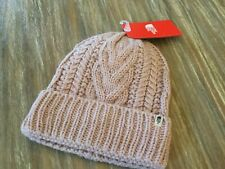 The North Face Cable Minna Womens Headwear Beanie Hat - Burnished Lilac -O/S