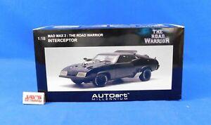 Mad Max 2 Road Warrior Interceptor 1:18 Scale Die-Cast Car 2007 AUTOart Complete