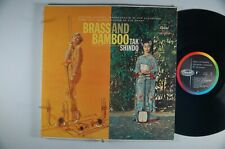 TAK SHINDO Brass and Bamboo WORLD Exotica MONO LP CAPITOL Orig. Inner Sleeve