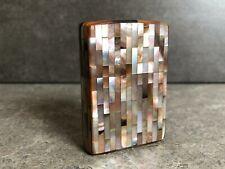 Zippo 1991 Gilbert Vanel 3D Mother of Pearl Case - Stunning Piece
