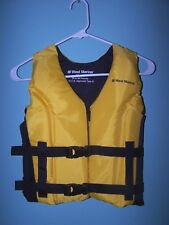 WEST MARINE MEDALIST Ski Vest Size YOUTH  50-90 lbs. (NWOT)
