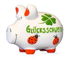 KCG Sparschwein Groß XL GLÜCKSSCHWEIN, Spardose Geldgeschenk Geburtstag Hochzeit