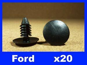 For FORD 20 bumper fender push screw type door card panel fastener trim clips