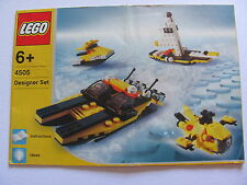 LEGO 4505 @@ NOTICE / INSTRUCTIONS BOOKLET / BAUANLEITUNG