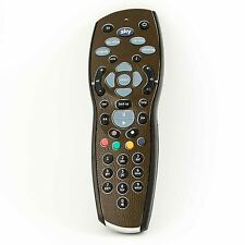 Brown Textured Leather Vinyl Skin Sticker for Sky+ Plus HD Remote Controller