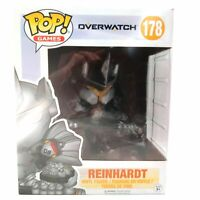 Funko Pop! Games Overwatch Reinhardt #178 Collectible Vinyl Figure New in Box