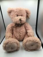Large Russ Berrie Koraleigh Pink Teddy Bear Plush Kids Soft Stuffed Toy Animal