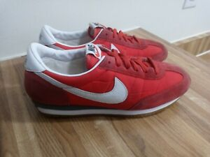 Nike Womens Oceania Racer Red White Gum Waffle Running Shoes Sz 9 307165-600
