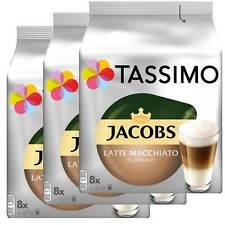 3 x Tassimo Jacobs Latte Macchiato Classico   24 T Discs