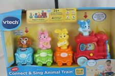 Infant Toy V Tech Connect & Sing Animal Train New Nwt