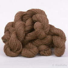 250g*PURE BRITISH WOOL*4 Ply Natural Undyed Brown yarn.knitting.shetland 100%