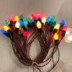 Vintage Working String of 25 C9 Color Xmas Lights