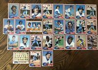 1981 CHICAGO CUBS Topps COMPLETE MLB Team Set 27 Cards SUTTER KINGMAN BUCKNER