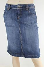 Denim Knee-Length Skirts for Women