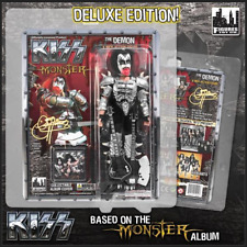 """KISS 8"""" Action Figure""""The Demon"""" Bloody Variant Deluxe Edition MINT Gene Simmons"""