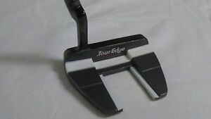 Tour Edge Golf Men's HP Series Nickel 02 Putter, Right Hand, Black + SHIPS FREE!