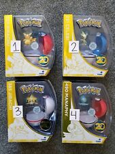 Pokemon 20th Anniversary Limited Edition TOMY Figures Pikachu Celebi Jirachi