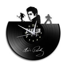 Elvis Presley Vinyl Wall Clock Retro Unique Music Art Gift