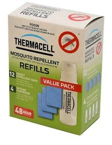 THERMACELL MOSQUITO REPELLER 'REFILLS' - 4 Pack - Allethrin Insect Repellent