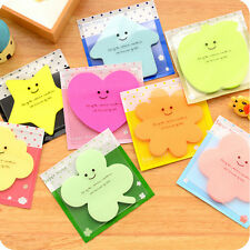 Fun Lovely Memo With Cover Bookmark Pad Stick Paste Memo Tab Sticky Notes YJ