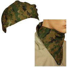 New Marpat Woodland Digital Triangular Bandana or Neckscarf