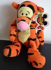 "TIGGER Mouseketoys DISNEY Mini Bean Bag 9"" Plush FREE SHIP Winnie The Pooh NEW"