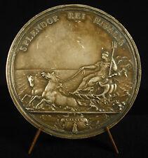 Médaille Louis XIV Splendor Rei Navalis Mauger la marine royale française medal