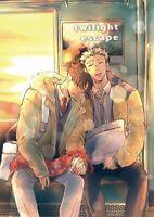 Haikyuu!! YAOI Doujinshi ( Bokuto x Kuroo ) twilight escape, NEW!! Takamachi